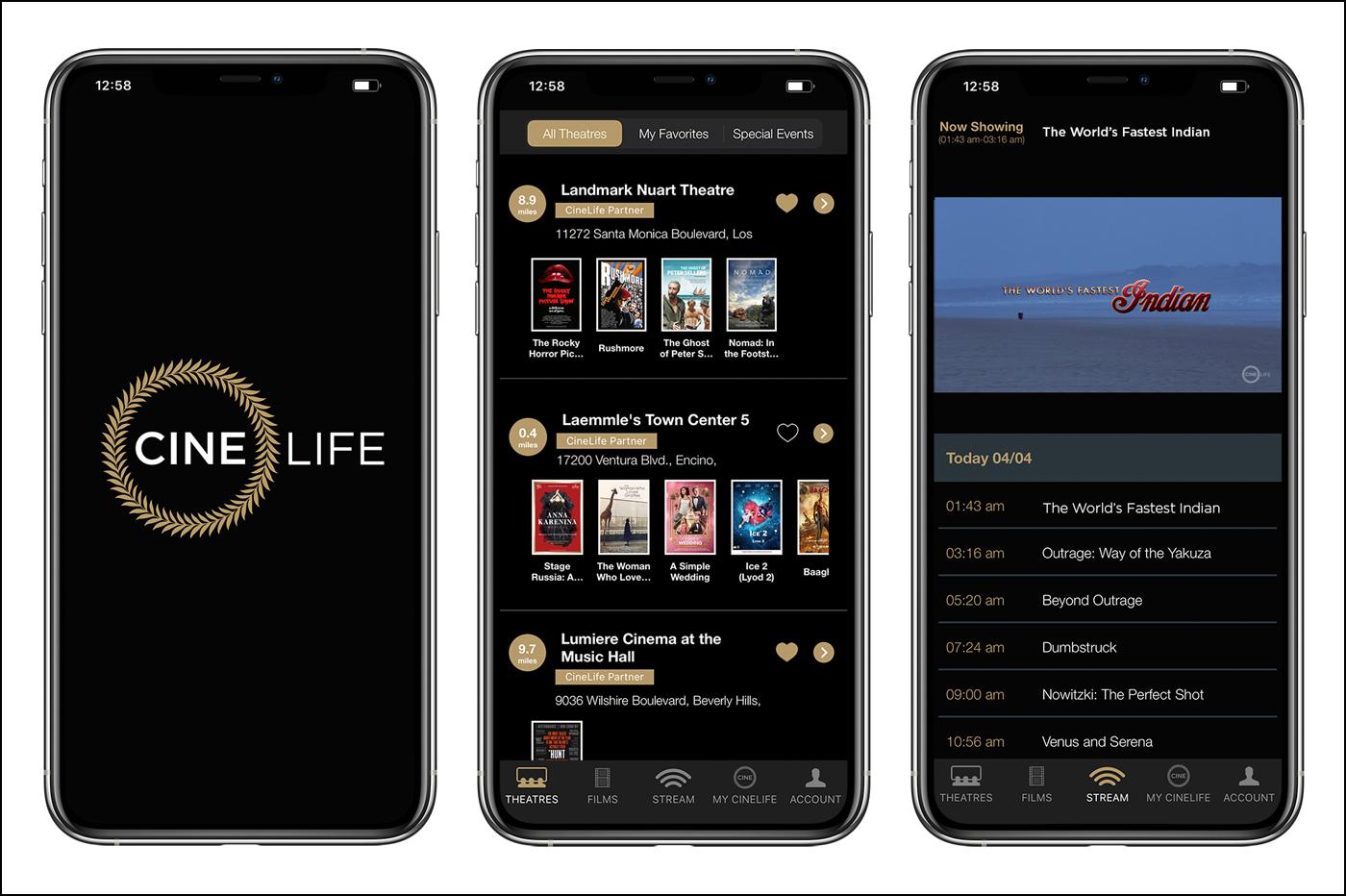 CineLife iPhone App